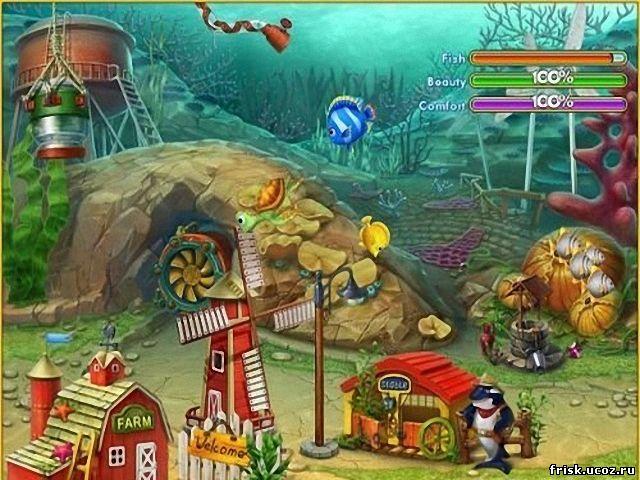 Скачать игру Fishdom 2 бесплатно.