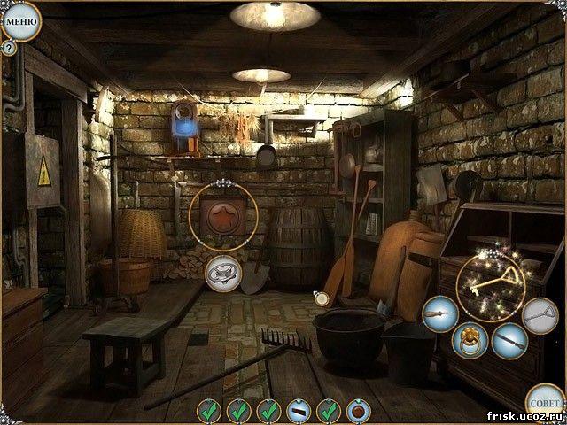 Скриншот к игре Легенды. Тайна старинного Сундука. все игры для мальчиков